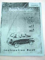 1959 OWNERS MANUAL, COPY