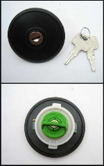 LOCKING GAS CAP WITH KEYS