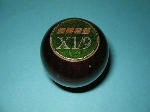 GREEN X19 IN WALNUT SHIFT KNOB