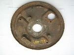 REAR BRAKE DRUM BACKING PLATE