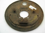 FRONT BRAKE DRUM BACKING PLATE