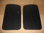 1957-64 BLACK DOOR PANEL SET