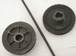127 MM FRONT CRANKSHAFT PULLEY