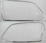 DOOR WINDOW ALLOY TRIM W FELT