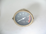 TACHOMETER WITH GOLD BEZEL