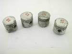 64.0 + 0.6 MM O/S PISTON SET