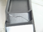1968-71 CENTER CONSOLE,CRACKED