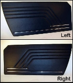 1974-78 BLACK DOOR PANEL SET