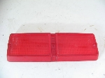 1971-72 RIGHT TAIL LAMP LENS