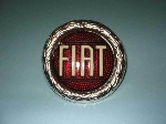 ENAMELED ROUND FIAT WREATH