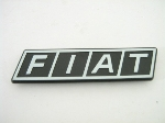 FIAT NAME PLATE ON FRONT GRILL