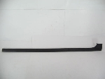 BLACK PLASTIC DOOR SILL TRIM
