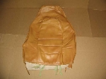 TAN UPPER SEAT BACK MATERIAL