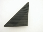 BLACK TRIANGLE MIRROR GASKET
