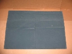 BLUE FELT HEADLINER