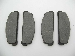 SEMI-METLC FRONT BRAKE PAD SET