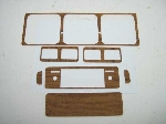 1975-78 WOODGRAIN DASH KIT