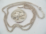 FIAT 501 SILVER NECKLACE