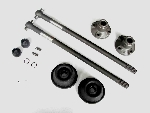 AXLE SET WITH 20 MM AXLES