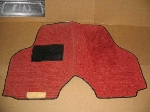 AFTERMARKET RED FLOOR MAT