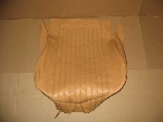 FRONT LOWER TAN SEAT COVER