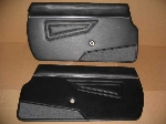 1979-85 BLACK DOOR PANEL SET