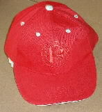 ALFA BADGED RED BASEBALL CAP