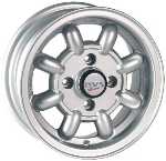 "4X98 MM 5X12"" ALLOY WHEEL SET"