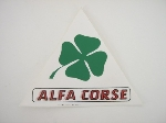 ALFA CORSE CLOVER LEAF STICKER