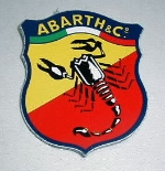 ABARTH & CO. STICKER 90 MM