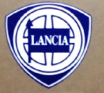 LANCIA  BADGE STICKER, 65 MM