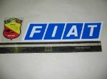 FIAT PARALLELOGRAM STICKER