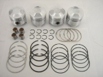 84.0 + 1.0 MM O/S PISTON SET