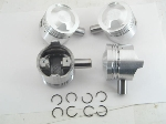 85.0+8 MM DOME NUDE PISTON SET