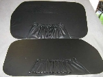 BLACK INNER DOOR PANEL SET