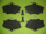 A/MARKET FRONT BRAKE PAD SET