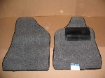 POLY GRAY CARPET FLOOR MAT SET