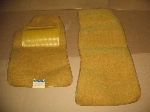 YELLOW FLOOR MAT SET