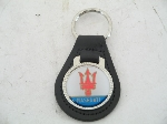 MASERATI LEATHER KEY FOB