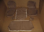 COMPLETE BEIGE UPHOLSTERY SET