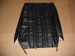 SEAT COVER TOP FRONT BLACK