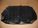 SEAT COVER BOTTOM REAR BLACK