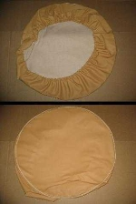 SPARE WHEEL COVER, BEIGE