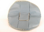 SPARE WHEEL COVER, BLUE
