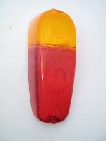 LEFT REAR EURO TAIL LAMP LENS