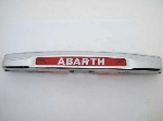 ABARTH LICENSE PLATE LAMP