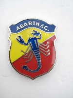 48 MM TALL ABARTH & C. EMBLEM