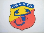 20 X 16 CM ABARTH STICKER