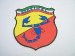 7X6 CM TRICOLOR ABARTH STICKER