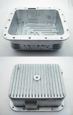 """ABARTH"" FINNED ALLOY OIL PAN"